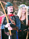 Golden Eagle Archers, Robin and Maid Marion